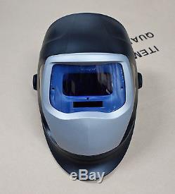 NEWEST 3M Speedglas 9100V Black Welding Helmet with Auto-Darkening Shades 5 8-13