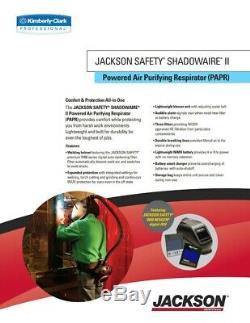 NEWJACKSON SHADOWAIRE II NEXGEN PAPR Welding Respirator AUTO DARKENING 3002552