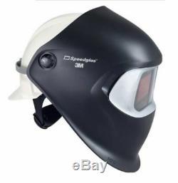 New 3M Speedglas 100 Black Welding Helmet with Auto-Darkening Filter 100V NK