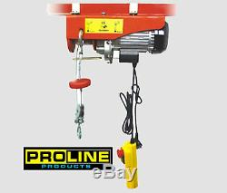 New 440LBS USA Standard UL Approved Electric Hoist with emergency button