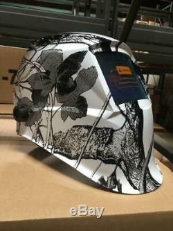 New COM Auto Darkening Welding Helmet+Grinding Hood Mask