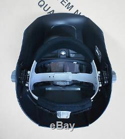 New HQ SERVORE BLUE Auto Lift Flip Auto Darkening Welding Helmet Shade #9-13
