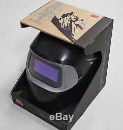 New & IMPROVED HQ 3M Speedglas 100 Black Welding Helmet with Auto-Darkening