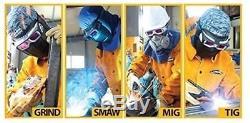 New SERVORE Welding GOGGLE MASK ARC 513 SHIELD Auto Darkening Shade Face Helmet