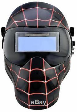 New Save Phace EFP-E Series Welding Helmet Marvel Miles Morales Black Spiderman