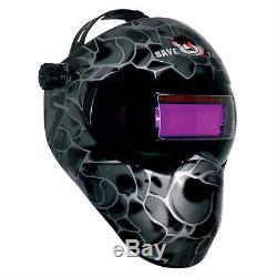 New Save Phace GEN X Series Welding Helmet Black Asp 180 degree Auto Darkening
