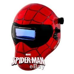 New Save Phace GEN Y Series EFP Welding Helmet Marvel Spider-Man 180 4/9-13 ADF
