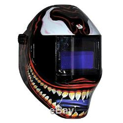 New Save Phace RFP Welding Helmet 40VizI2 40sq inch lens 2 Sensor Kannibal