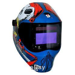 New Save Phace RFP Welding Helmet 40VizI4 40sq inch lens 4 Sensor Captain Jack