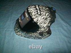 New Snap-on Efp2wflame High Definition Adjustable Auto Darkening Welding Helmet