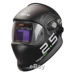 OPTREL 1006.600 Auto Darkening Welding Helmet, Black G6128468