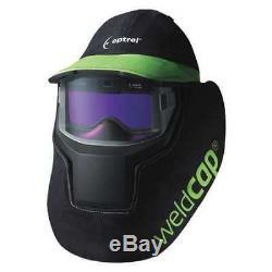OPTREL 1008.000 Auto Darkening Welding Helmet, Blck/Green G3377650