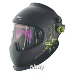 OPTREL 1010.000 Welding Helmet, Auto-Darkening Filter, Blk