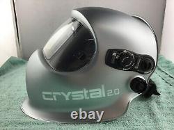 Optrel 1006.900 Crystal 2.0 Auto-darkening Welding Helmet USED