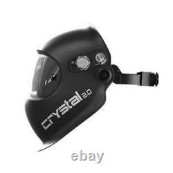 Optrel 1006.901 Crystal 2.0 Auto Darkening Welding Helmet Black