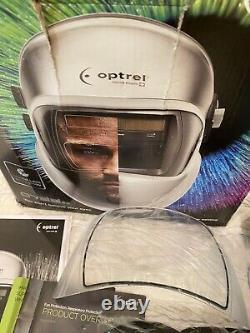 Optrel Crystal 2.0 Auto-Darkening Welding Helmet Silver