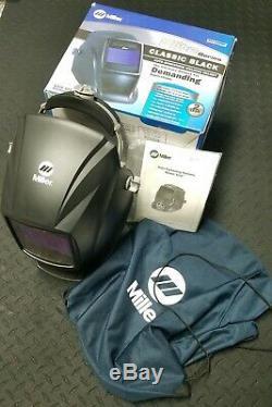Original Miller Elite Series Welding Helmet EXCELLENT CONDITION Tested Works