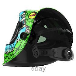 Panoramic 180 View Auto Darkening Welding Helmet True Color Welder Mask Hood