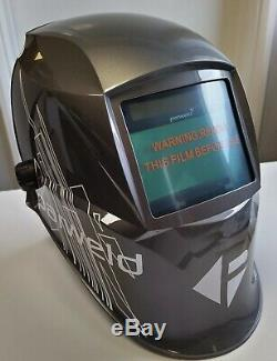 Parweld XR938 Graphite Grey True Colour Light Reactive Welding Headshield