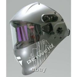 Parweld XR939H Welders Headshield Auto Darkening Helmet c/w Express Delivery