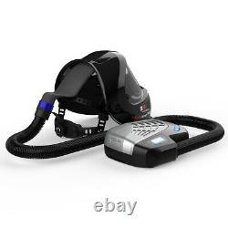 Powered Air Purifying Respirator Auto Darkening Welding Helmet Q800D