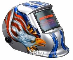 Pro Solar Auto Darkening Safety Welding Helmet Arc Tig Mig Welder Mask Grinding