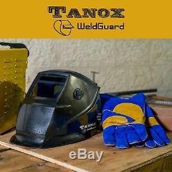 Pro Solar Auto Darkening Welding Helmet, Arc Tig Mig Mask, Grinding Welder Mask