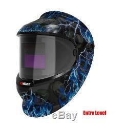 Professional Pro Solar Auto-Darkening Welding Helmet Welder Mask ARC TIG MIG