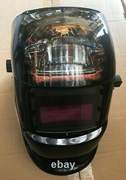 RCCD Solar Auto Darkening Welding/grinding Helmet certified hood Mask