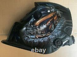 RCCD Solar Certified ANSI CE Welding/Grinding Helmet Hood Mask $$@@