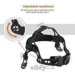 ROBO mask AUTO DARKENING WELDING/GRINDING HELMET big viewith4 sensor/DIN 4-13 Hood