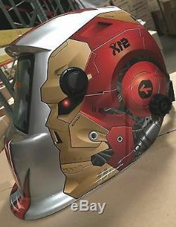 RON Solar Auto Darkening Welding & Grinding Helmet Hood Mask
