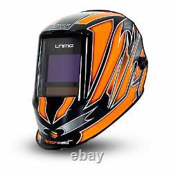 Razor Automatic Welding Helmet Unimig True Colour Digital Lens Razorweld Umrwwh