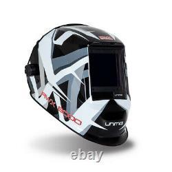 Razor Rwx8000 Automatic Welding Helmet Unimig 4 Arc Sensor Razorweld Umcwh
