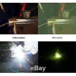 Robot AUTO DARKENING WELDING/GRINDING HELMET big view, 4 sensor, DIN 4-13 Hood