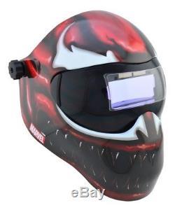 SAVE PHACE EFP-F Auto-Darkening Welding Helmet Gen X Marvel CARNAGE 3012640