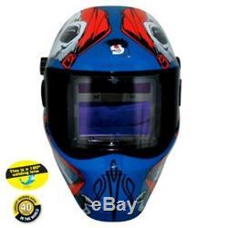 SAVE PHACE INC CAPTAIN JACK RFP Series Auto Darkening Welding Helmet SV3011698