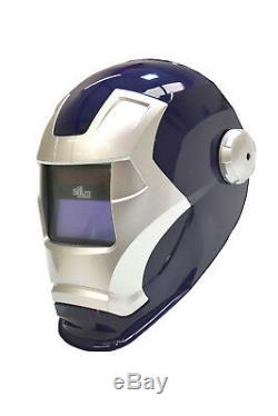 SIFLITE revenge auto darkening welding helmet / Ironman helmet FXADF700B(blue)