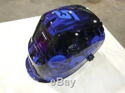 SNAP ON Welding Helmet YA4610, Battery and Solar power, Auto Darkening (New)