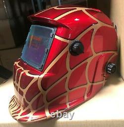 SPMD Solar Auto Darkening Welding/grinding Helmet certified hood Mask