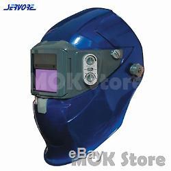 Servore Auto Lift & Auto Darkening Welding Helmet 5000X-SLIDE (Blue)
