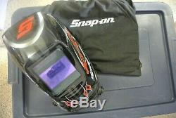 Snap on Auto Darkening Welding Helmet