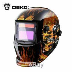 Solar Auto Darkening MIG MMA Welder Cap Electric Welding Helmet Mask