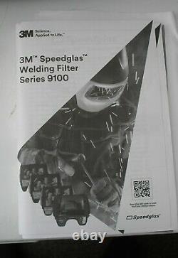 Speedglas 9100 Air Welding Helmet with Filter 9100XXi and 3M Adflo Powered Air R