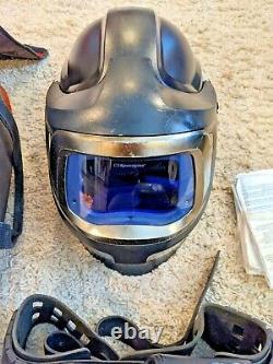 Speedglas 9100 MP Hard Hat Welding Helmet 3M Adflo Upgraded 9100xxi Lens