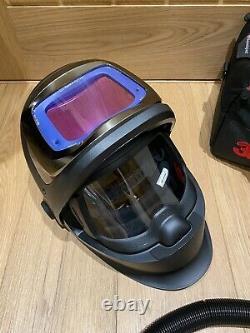 Speedglas 9100XXi FX Adflo Air Fed Welding Helmet + Braces