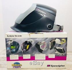 Speedglas Speedglass 3M 04-0014-10U Utility Auto Darkening Welding Hood Helmet