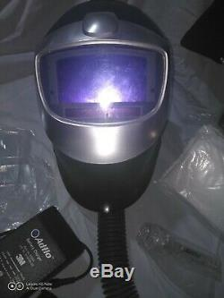 Speedglas Welding Helmet/Adflo Air filter System Package/ with lots of extras