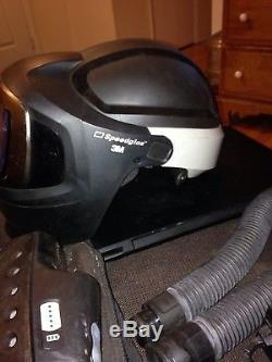 Speedglas air cooled, auto darkening welding helmet
