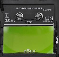 TDB new AUTO DARKENING WELDING/Grinding HELMET cheater-lens-ready